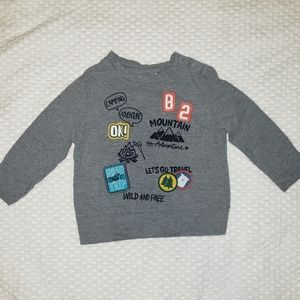 Toddler Boy Arizona Jean Co. Camping Shirt